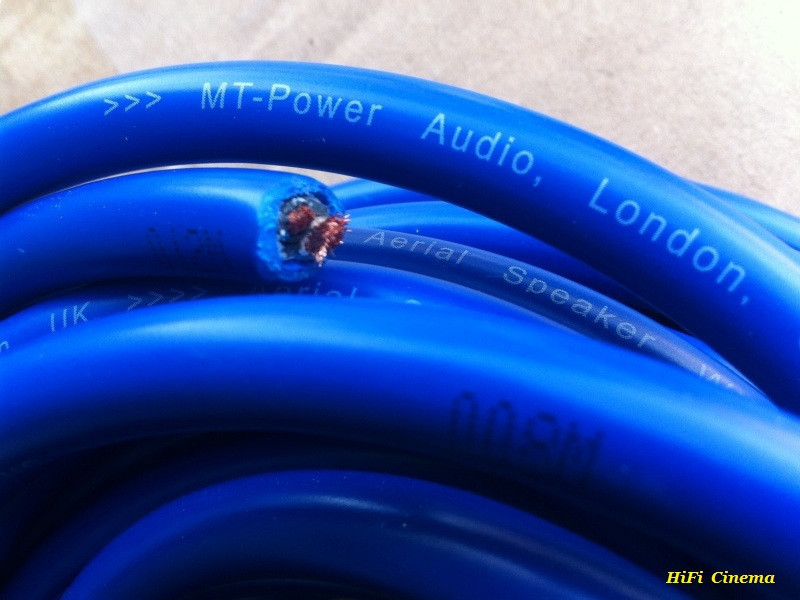 MT-Power Aerial 2/12 AWG Speaker cable инсталляционный акустический кабель 2 х 4 мм2, фото 1