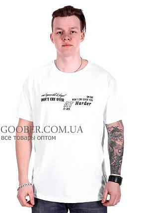 Турецкая мужская футболка большого размера (f212/3) 4XL, фото 2