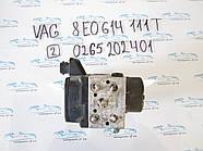 Блок АБС, ABS Vag 8E0614111T 0265202401 №2