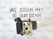Блок АБС, ABS Vag 8E0614111T 0265202401 №1