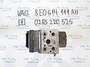 Блок АБС, ABS Vag 8E0614111AH 0265220525 №1