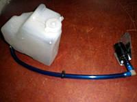1102-5208100 Бачек омывателя Таврия ЗАЗ-1102 / Славута ЗАЗ-1103. Бачок для жидкости омывания стекла с крышкой , фото 1