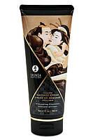 Съедобный крем для эротического массажа Шоколадный Shunga Massage Cream Intoxicating Chocolate 200 ml Шунга