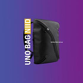 NiID UNO BAG умный рюкзак. Многофункциональный, городской, стильный, модный, черный 2019