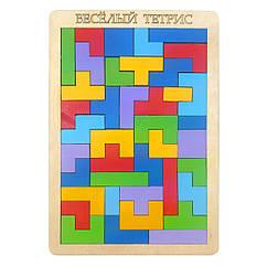 Игра - головоломка: Весёлый тетрис (большой)