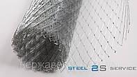 Сетка нержавеющая 2,5-0,7мм 12Х18Н10Т