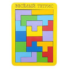 Игра - головоломка: Весёлый тетрис (маленький)