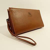 Клатч мужской кожаный 1222 светло-коричневый, расцветки в наличии, фото 1