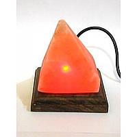 """Соляной светильник """" Пирамида"""""""