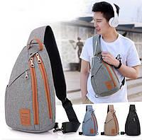 Спортивный мини-рюкзак, сумка Dyizu 4 цвета + Наушники