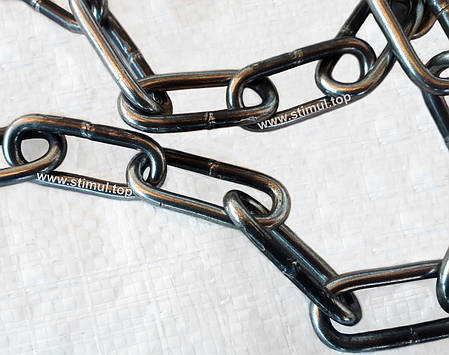 Цепь хозяйственная сварная 7 мм х 10 м (длиннозвенная), фото 2
