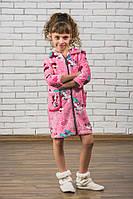 Махровый детский халат на молнии Микки от производителя