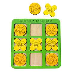 Игра: Крестики-нолики цветные