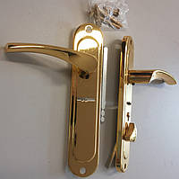 Дверная ручка  BARRERA HS -42-02-01 R/L золото, фото 1