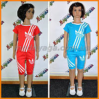 Летний детский костюм Adidas