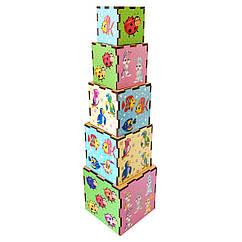 Кубик - матрёшка: Животные