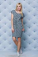 Женское летнее платье серое от производителя