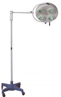 Светильник 4-х рефлекторный YD01-4 хирургический бестеневой  напольный