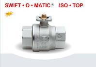Латунный шаровой кран с фланцем ISO 5211 для соединения с приводами