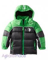 U.S.Polo Assn Куртка зеленая