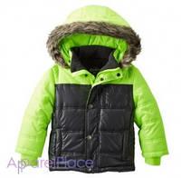 OshKosh Куртка салатовая с меховым капюшоном 2-5
