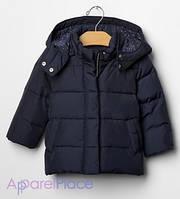 Gap Куртка темно-синяя на пуху