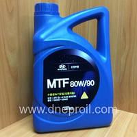 Трансмиссионное масло Hyundai Kia MTF 80W-90 GL-4 (04300-00460) 4 л., фото 1