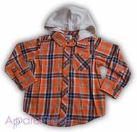 OldNavy Рубашка в оранжевую клетку