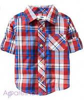 OldNavy Рубашка в красно-синюю клетку