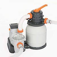 Песочный фильтр насос Bestway 58495, 3 785 л/час, 9 кг