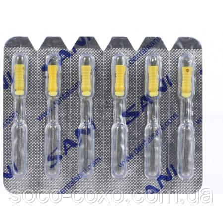 Профайлы Никель-титановые К файлы Премиум класса 25 mm #15-40
