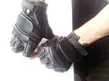 Тактические перчатки усиленные беспалые пара, фото 2