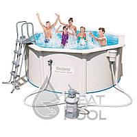 Сборный бассейн Bestway Hydrium 56566 (300x120) с песочный фильтром