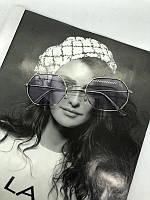 Очки солнцезащитные с лиловыми стеклами