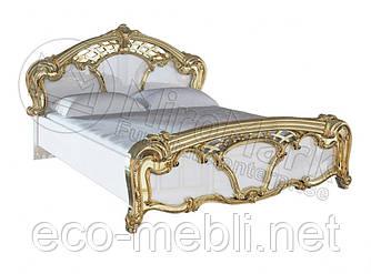 Двоспальне ліжко 160х200 з каркасом у спальню Єва Міромарк
