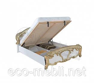 Двоспальне ліжко 160х200 з підйомним механізмом у спальню Єва Міромарк