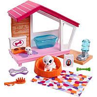 """Игровой набор Barbie Мебель для кукол """"Собачья будка"""" (FXG34)"""