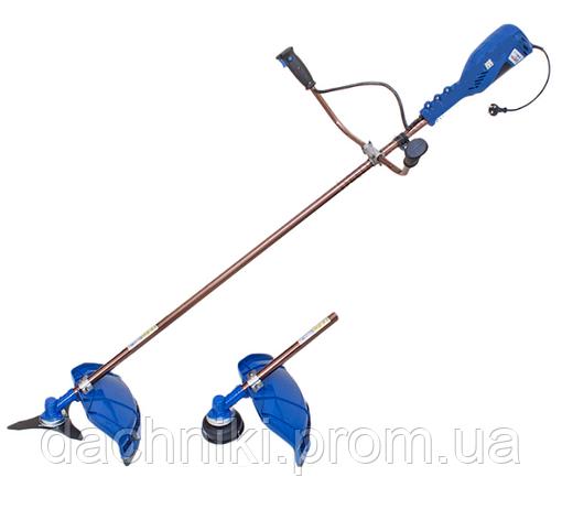 Электрокоса Витязь КГ-3200 (цельный вал, велосипедная ручка), фото 2