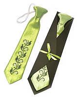 Детский галстук с вышивкой «Вист»