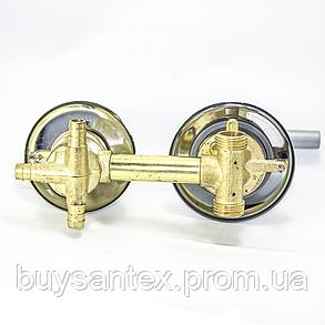 Змішувач душової кабіни (S-3 \ 12) вбудовується на три положення під штуцер. (Оригінал), фото 2