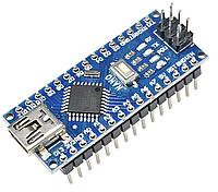 Плата Arduino Nano ATMega328P V3.0 CH340 с распаянными коннекторами