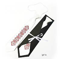 """Детский галстук с вышивкой """"Вир"""""""