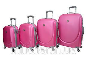 Чемодан ручная кладь Bonro Smile (мини) розовый, фото 2