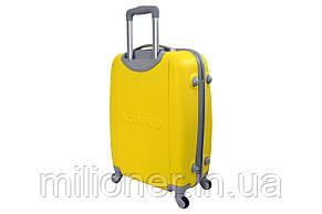 Валіза Bonro Smile (невеликий) жовтий, фото 2