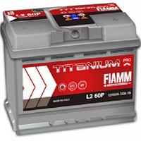 Акумулятор FIAMM TITANIUM PROFESSIONAL 6CT-60AзE 600A П (L2 62P)