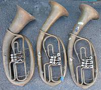 Баритон, тенор, альт, корнет, тромбон...- Труби музичні б/в в гарному стані