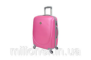 Чемодан Bonro Smile (средний) розовый, фото 2
