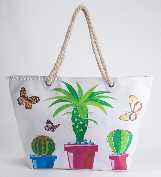 Пляжная сумка с пинтом