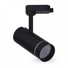 Трековый светодиодный светильник Feron AL106 10W черный