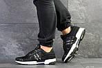 Чоловічі кросівки Adidas Clima Cool (чорно-білі), фото 3